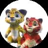 Leo en tijg