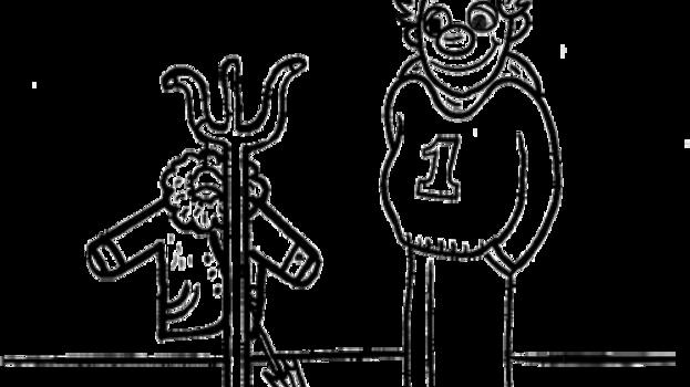 Kleurplaat Koning Koos kapstok