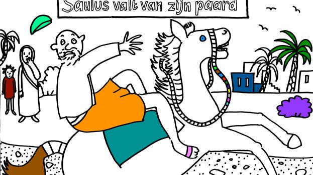 Saulus valt van zijn paard