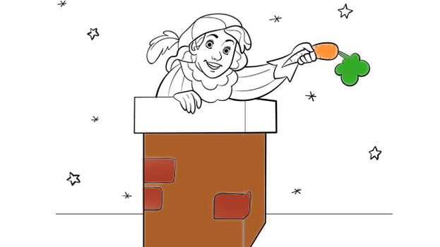Piet en de schoorsteen - Sinterklaas