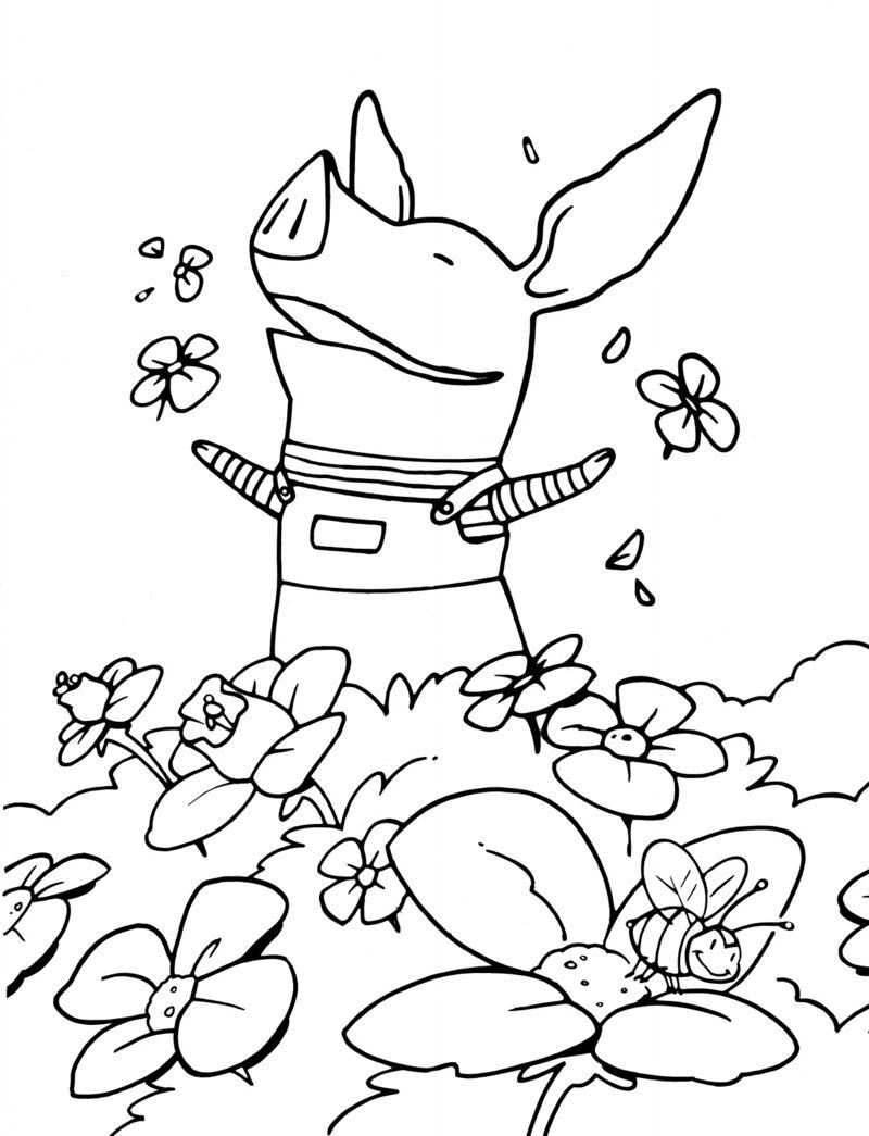 Olivia - bloemen