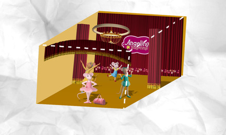 Angelina Ballerina - kijkdoos