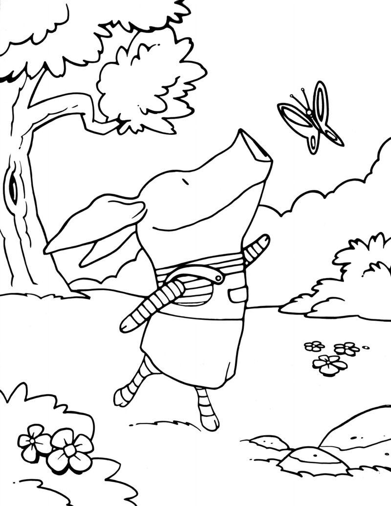 Olivia - vlinder
