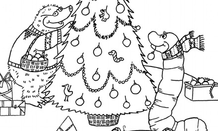 Kleurplaten Kerst Bumba.Kerst Kleurplaten Zappelin