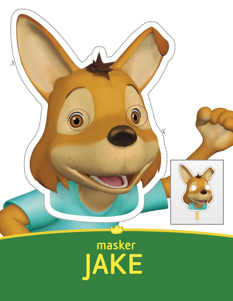 Babar - Jake masker