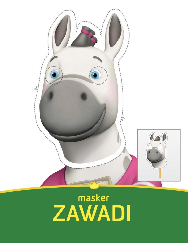 Babar - Zawadi masker