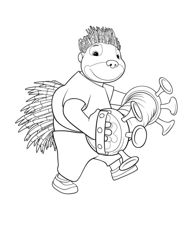 Babar - Munroe speelt accordeon