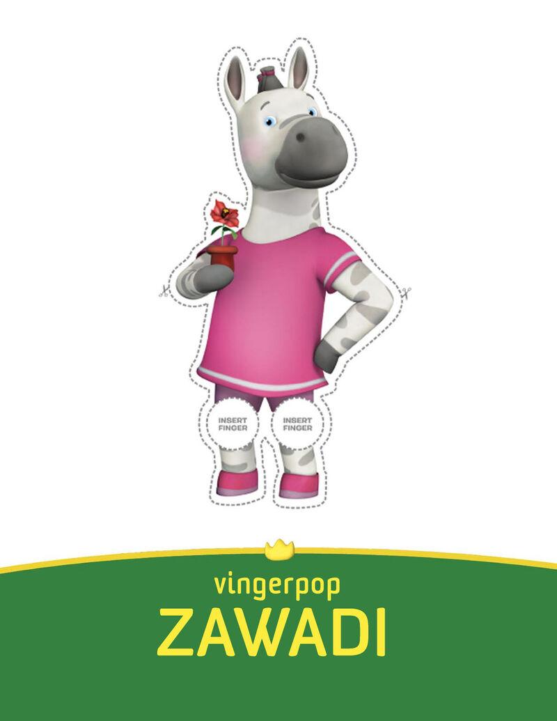 Babar - Zawadi vingerpopje
