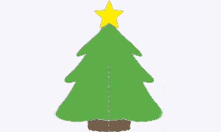 Knutselen: Een kerstboom voor jezelf