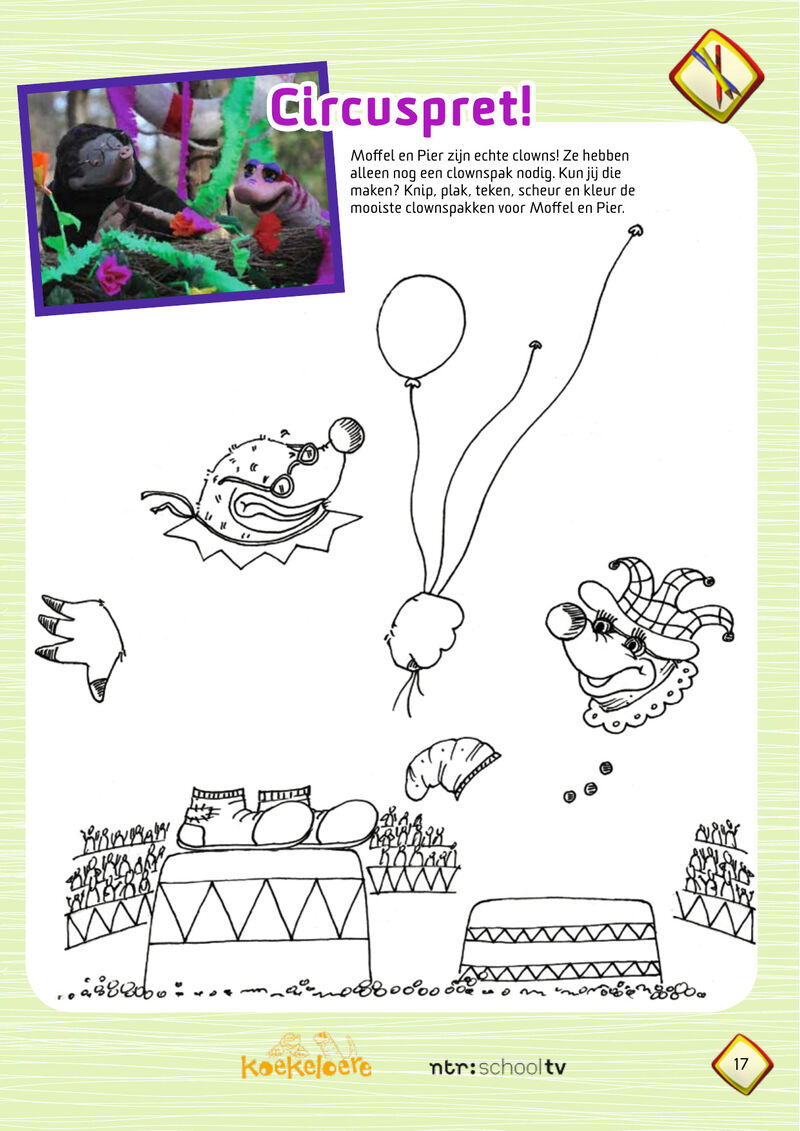 Koekeloere - clownspakken
