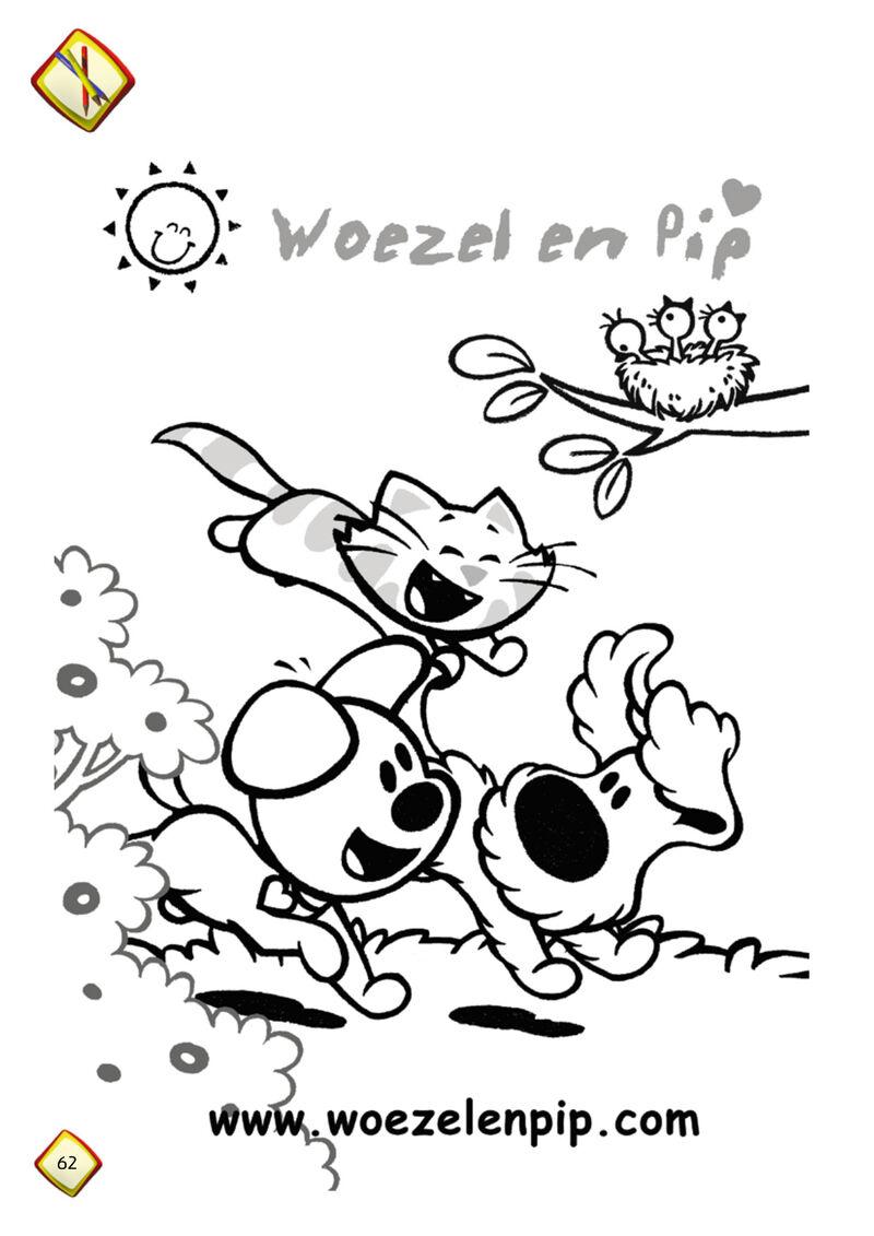 Woezel & Pip - rennen