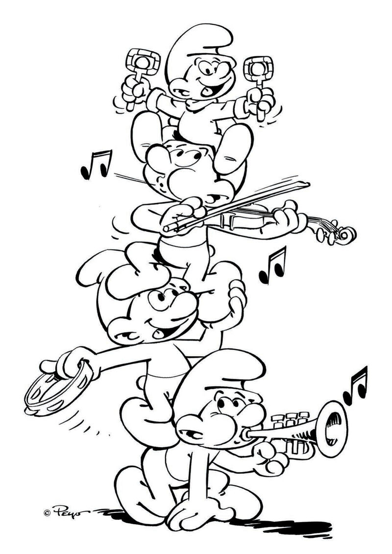 De Smurfen - muziek