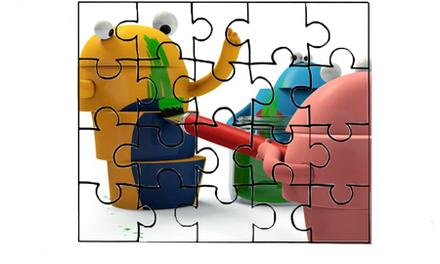 Tumblies - puzzel