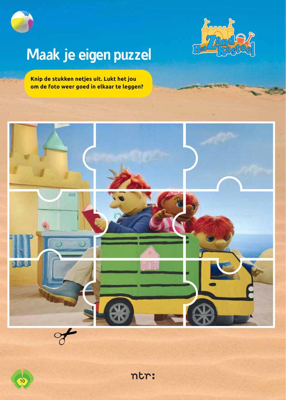 Het Zandkasteel - puzzel