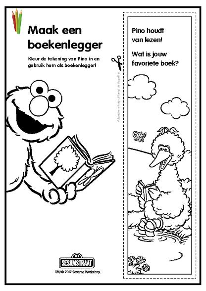 Boekenlegger sesam zdb