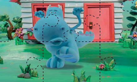 Spelletje: Draakje - puzzel