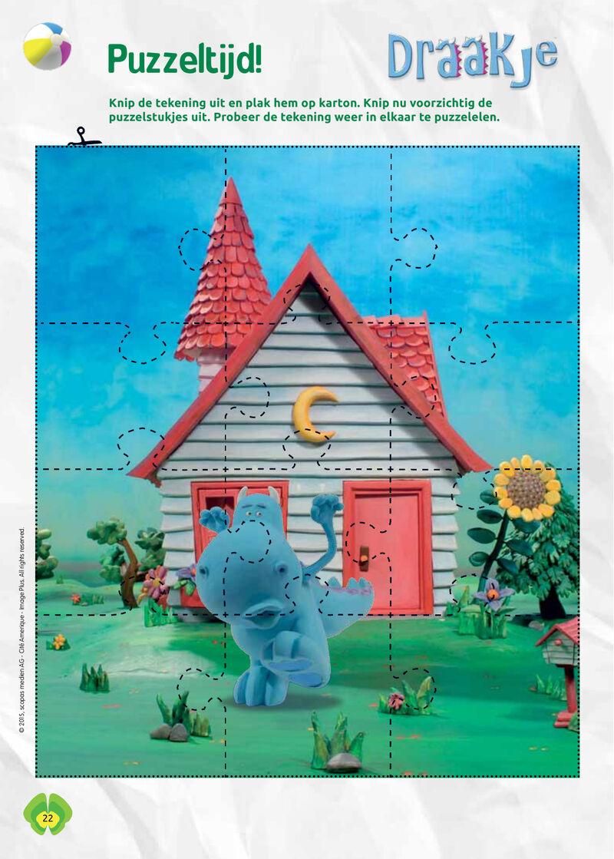 Draakje - puzzel