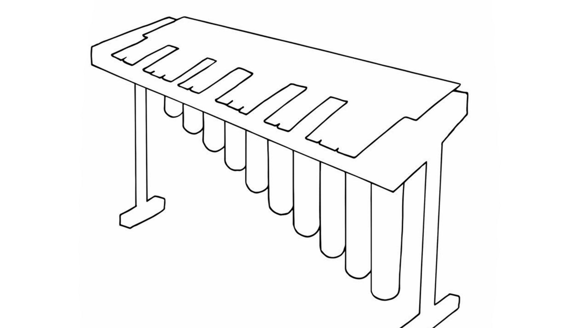 Diythumb vibraphone