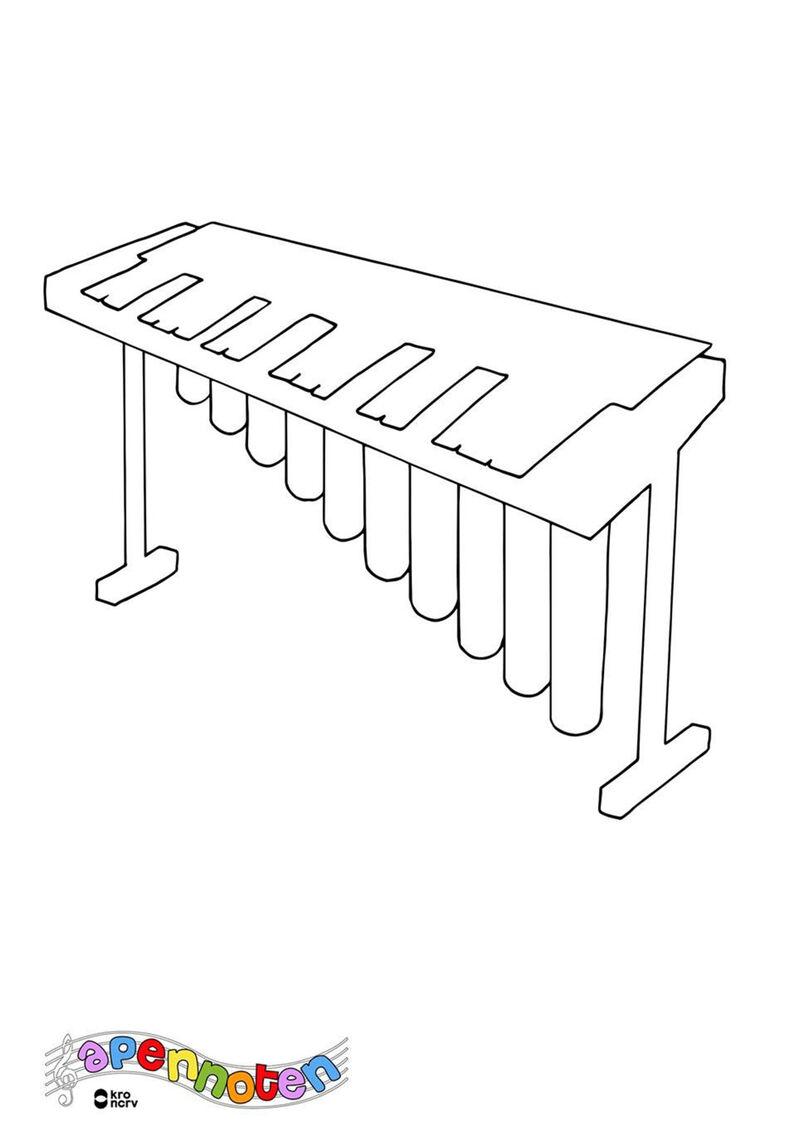 Apennoten - vibrafoon