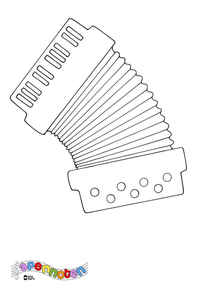Apennoten - accordeon