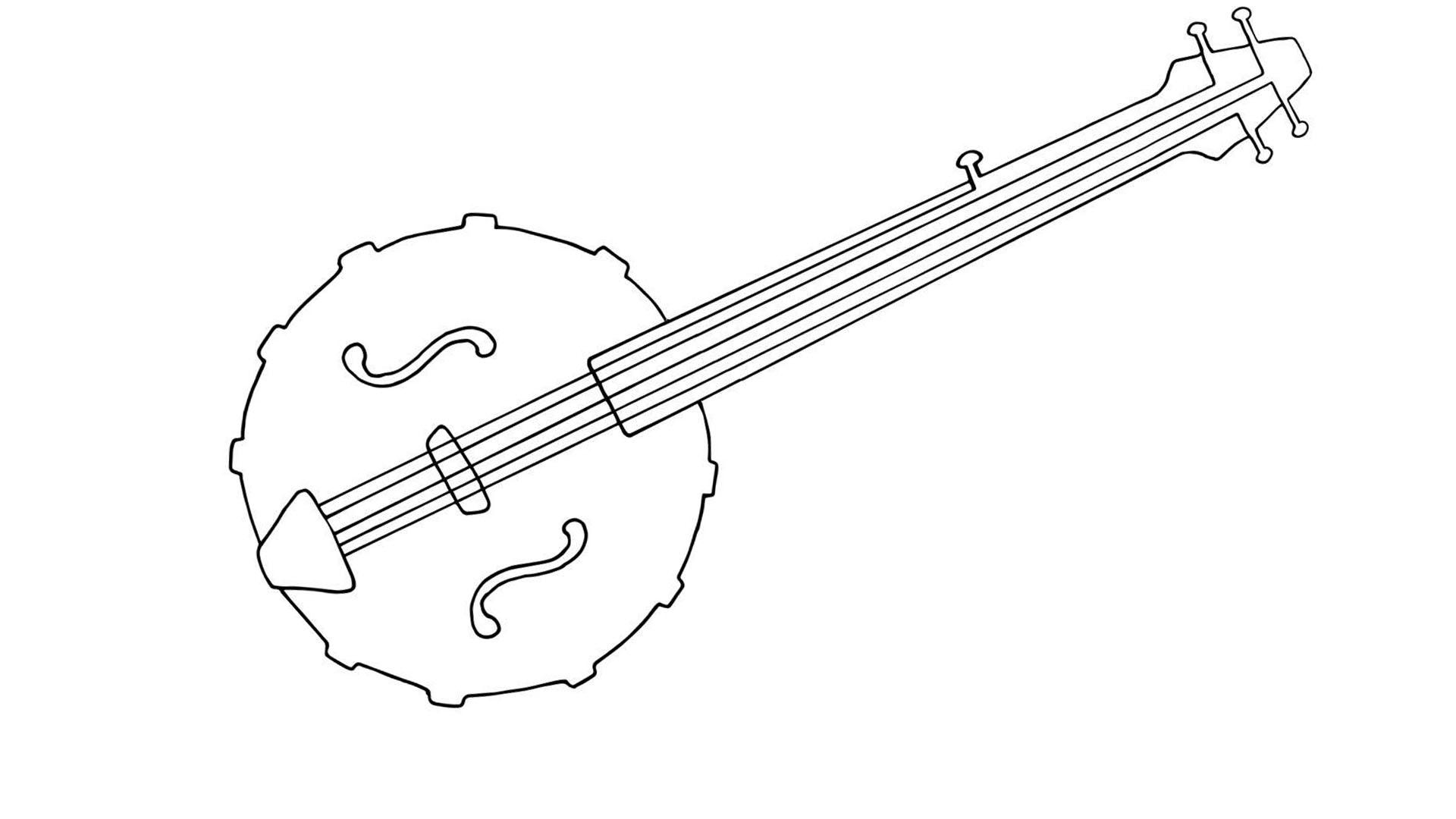 Diythumb banjo