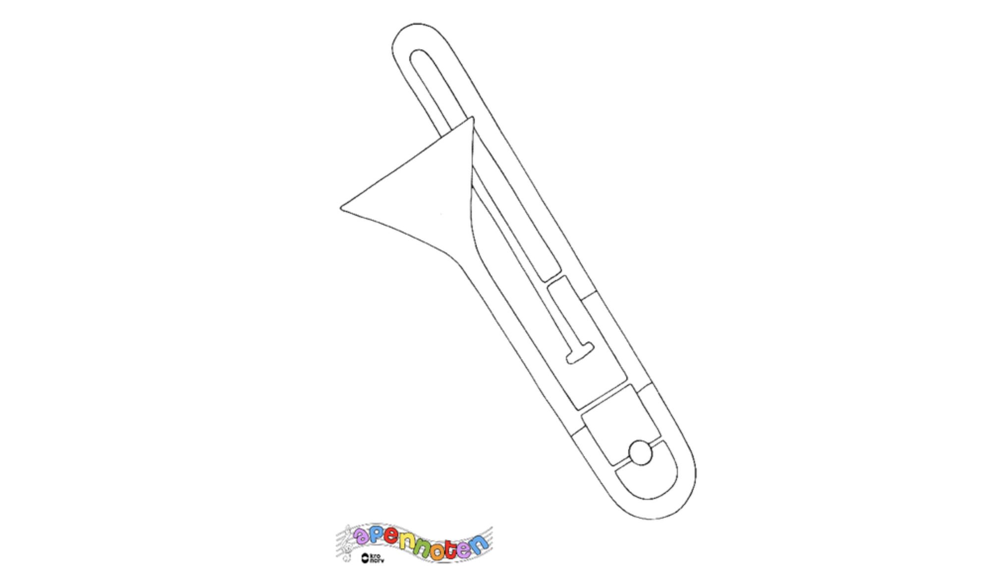 Apennoten - trombone