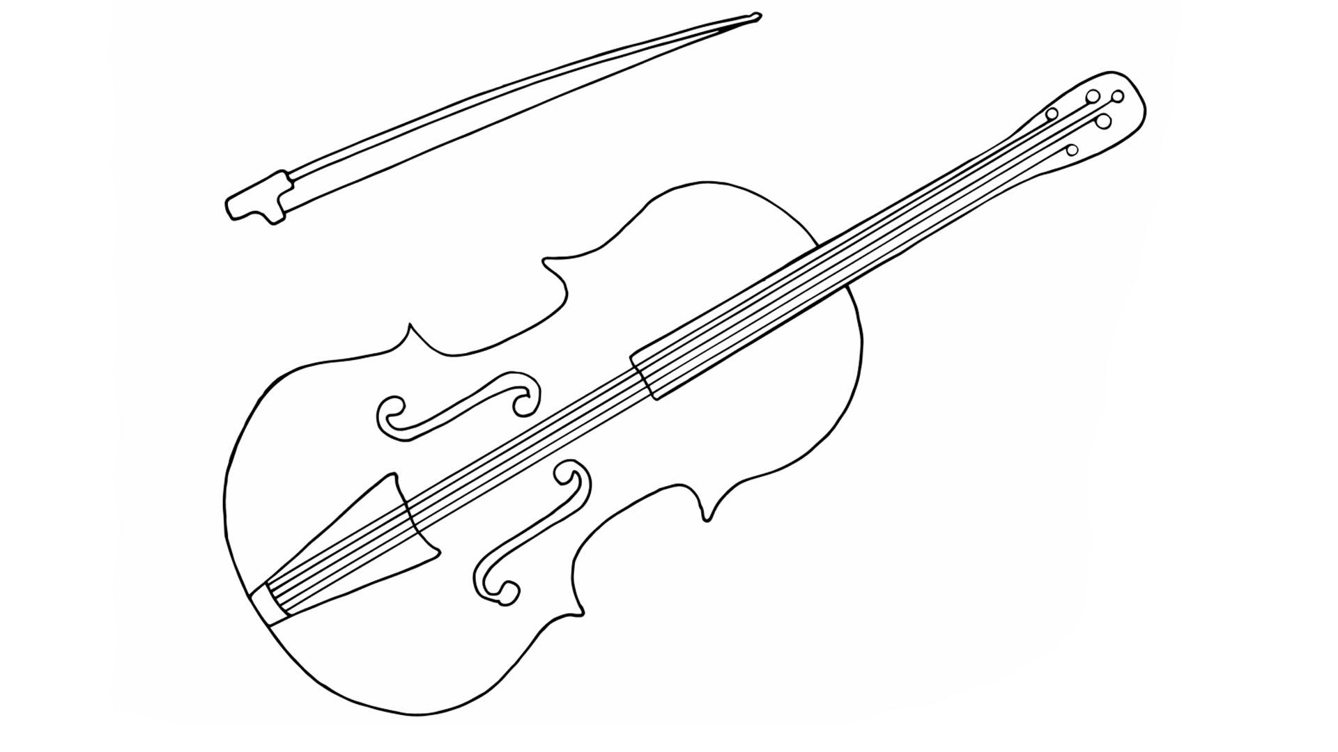 Diythumb viool