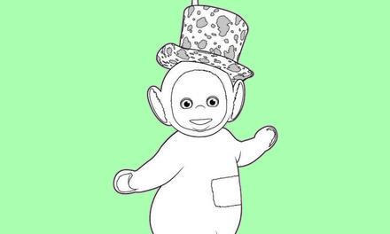 Teletubbies - Dipsy met hoed