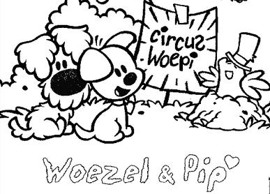 Woezel en pip circus
