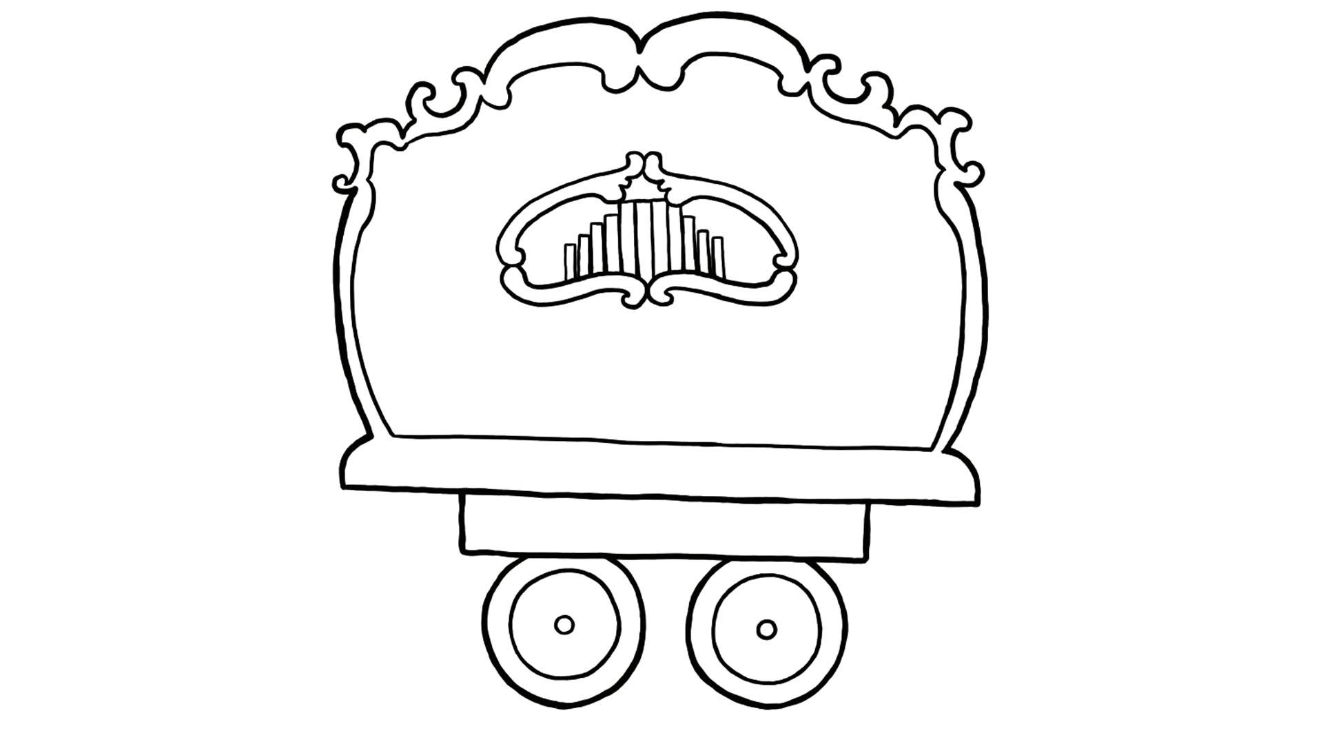 Apennoten - draaiorgel