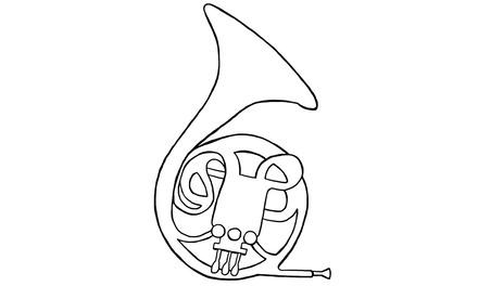 Apennoten - hoorn