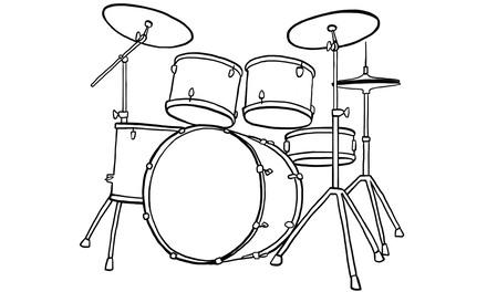 Apennoten - drumstel