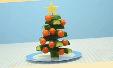 Kerst - gezonde kerstboom