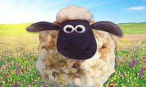 Shaun het Schaap - popcorn