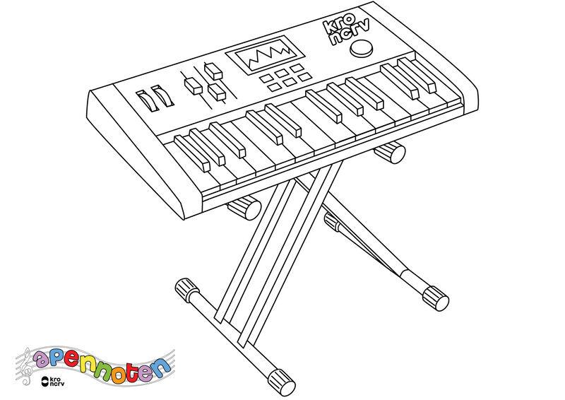 Apennoten - synthesizer