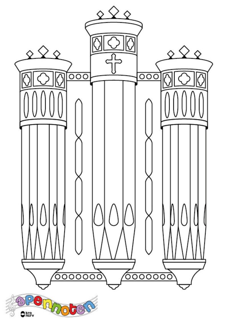 Apennoten - orgel