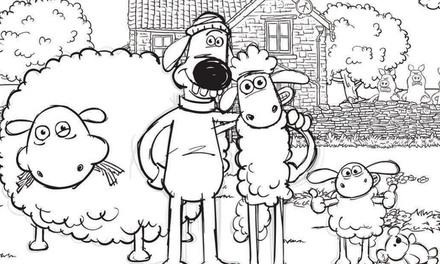 Shaun het Schaap - op de boerderij