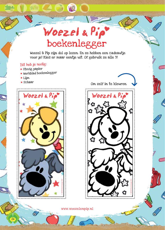 Woezel & Pip - boekenlegger