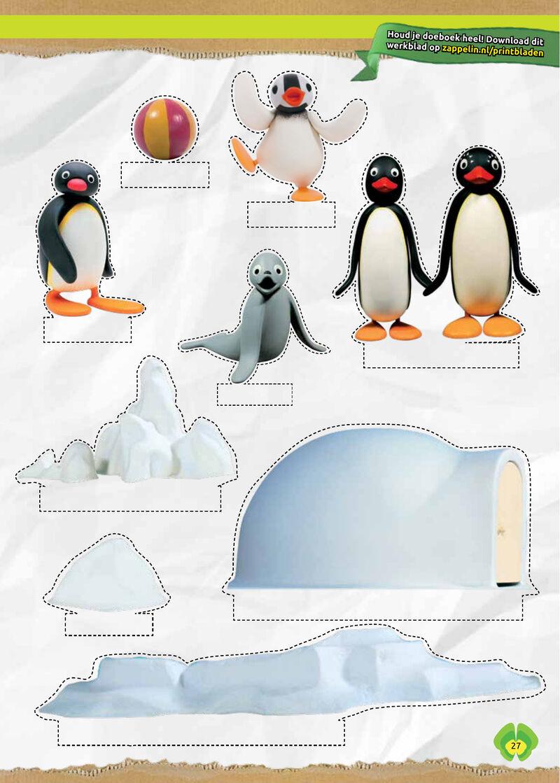 Pingu - kijkdoos