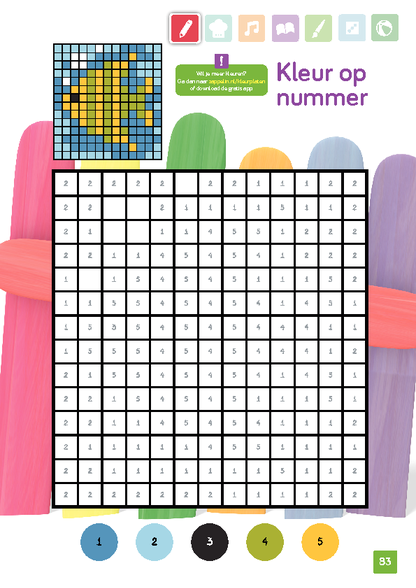 Kleur op nummer