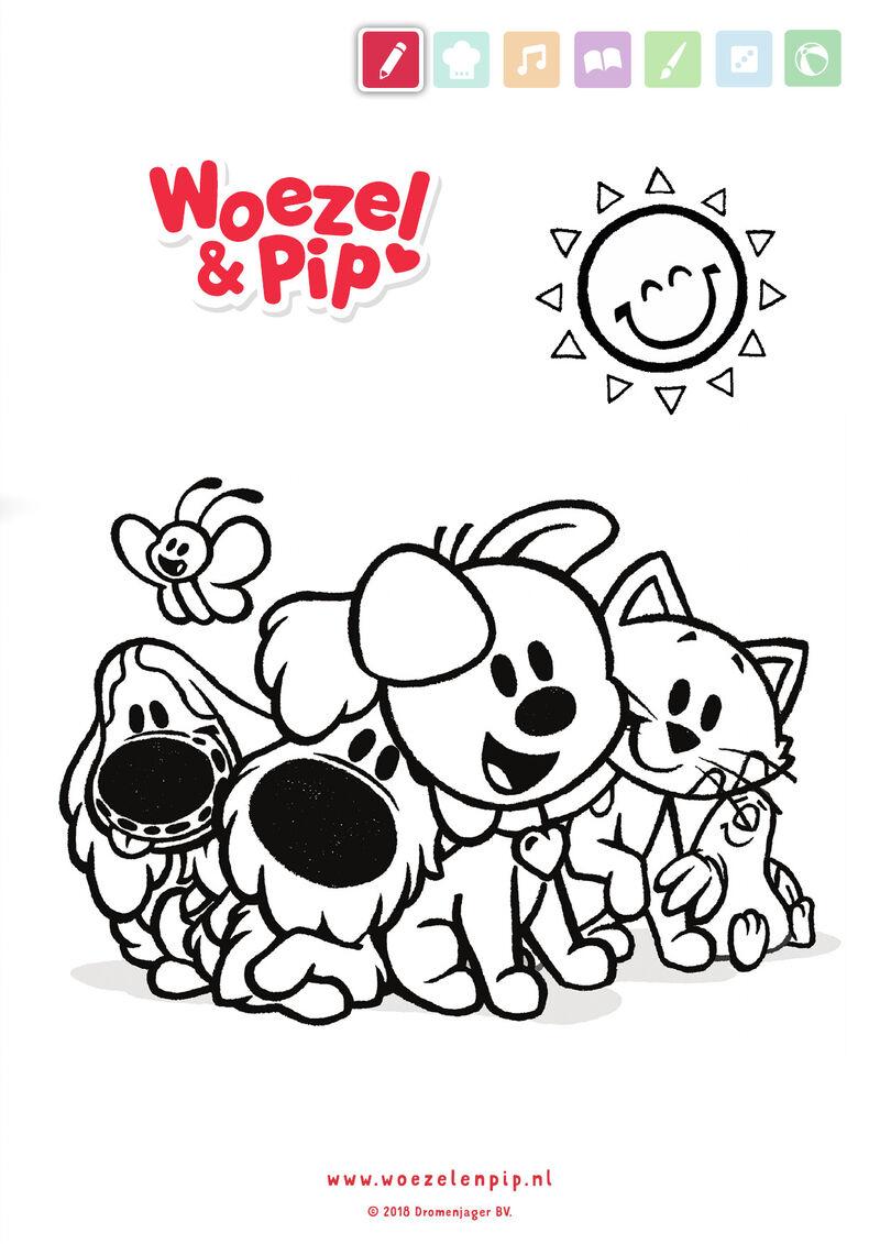 Woezel & Pip - vriendjes