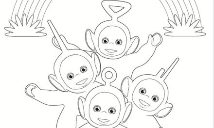 Teletubbies - regenboog