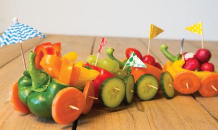Zappelin - groententrein