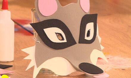 Zin in Zappelin - wolvenmasker