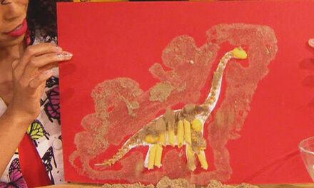 Zin in Zappelin - dinoskelet