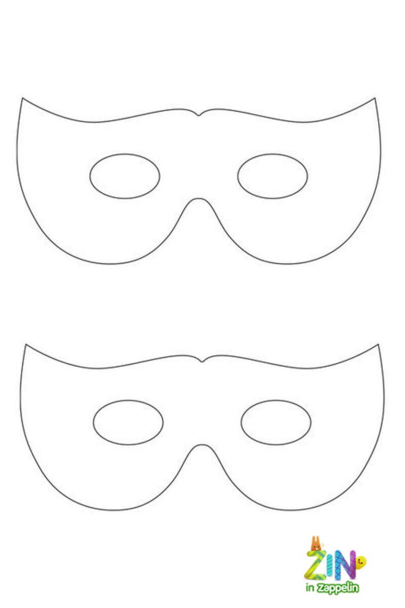 Zin in Zappelin - masker