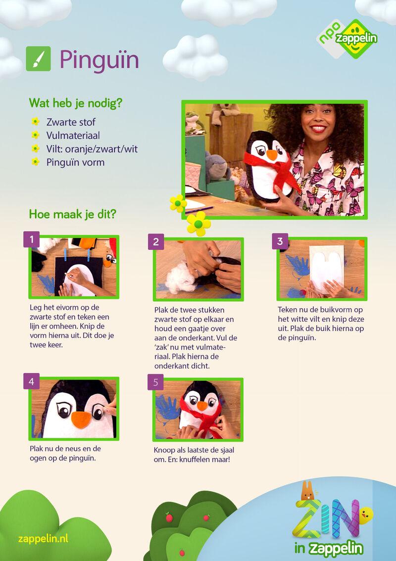 Zin in Zappelin - pinguïn
