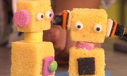 Zin in Zappelin - robotcake
