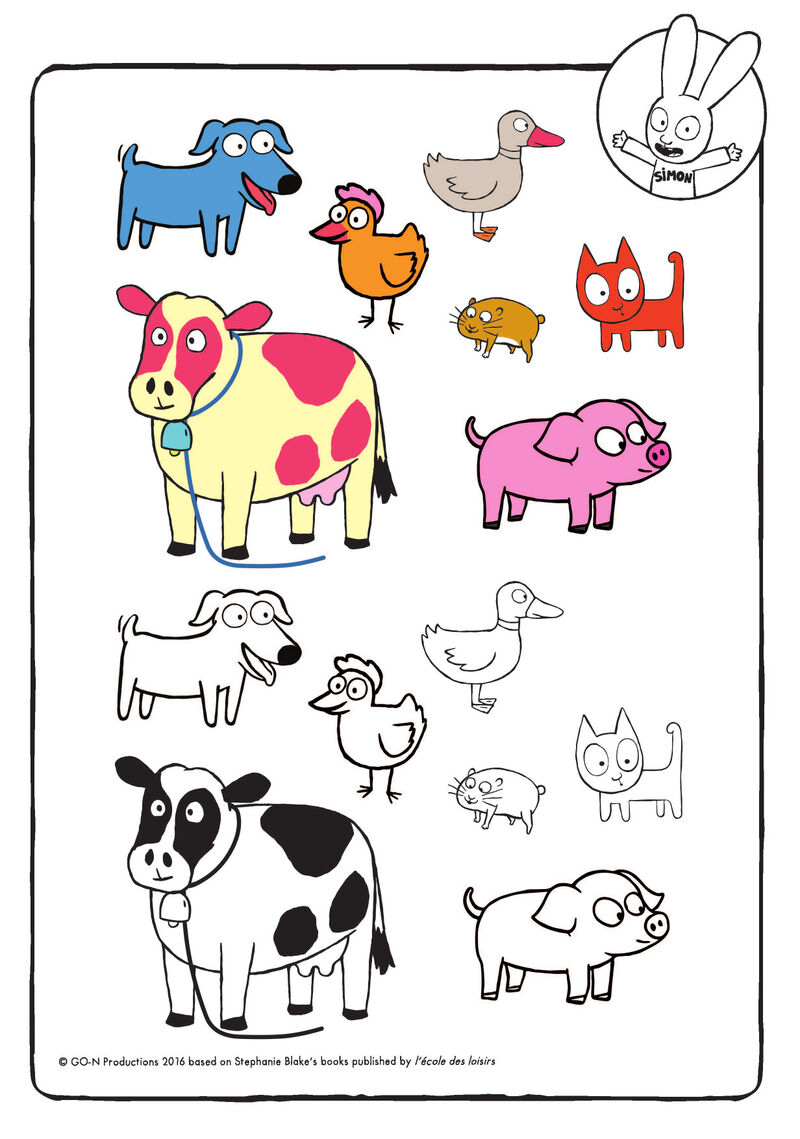 Simon - boerderijdieren