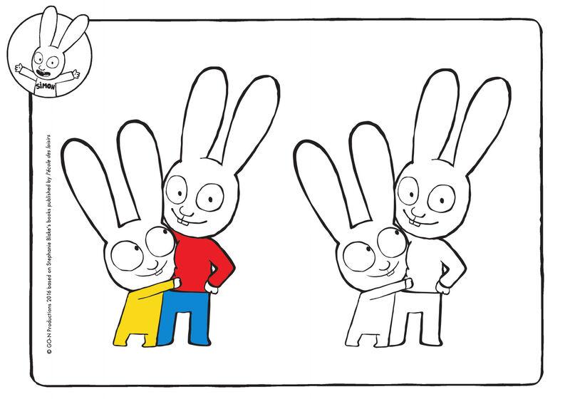 Simon - knuffel met Casper